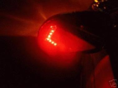 LED Pfeil Blinker für den Aussenspiegel, rot