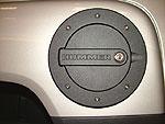 Defenderworx Hummer H3 & H3T schwarz beschichtete abschließbarer