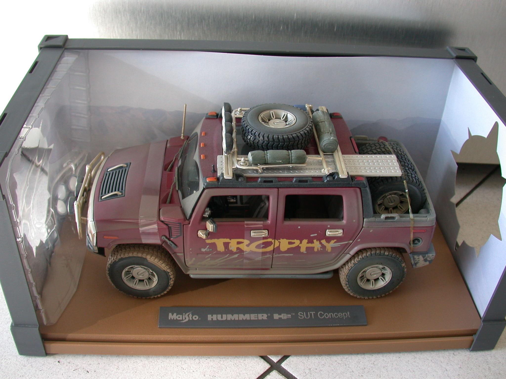 1:18 H2 SUT Modell Dirt Rider